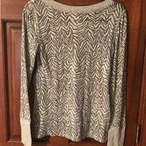Jenni Tops - Long sleeved burn out top